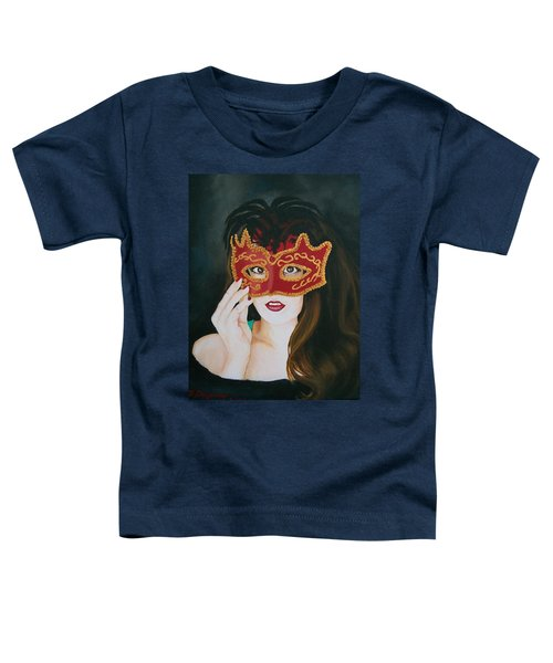 Beauty And The Mask Toddler T-Shirt