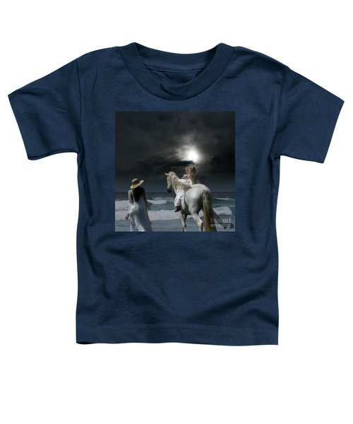 Beneath The Illusion In Colour Toddler T-Shirt by Sharon Mau