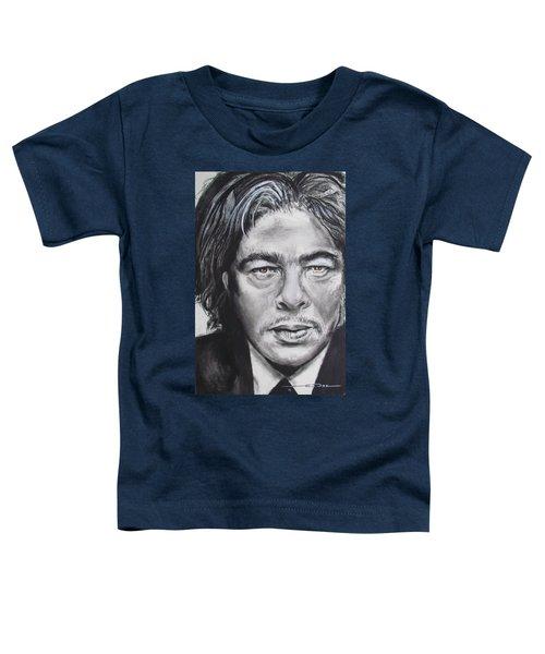 Benicio Del Toro Toddler T-Shirt