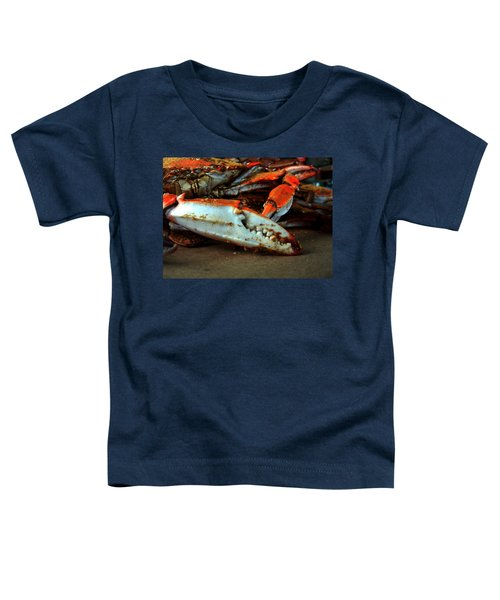 Big Crab Claw Toddler T-Shirt
