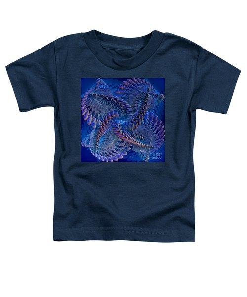 Blue 3 Toddler T-Shirt