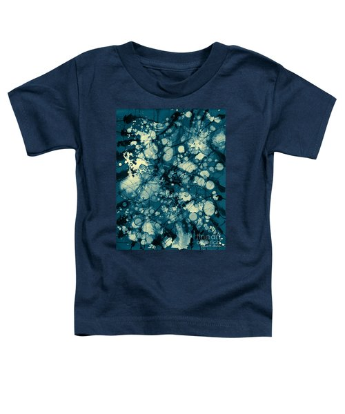 Blue And Yellow Abstraction Toddler T-Shirt