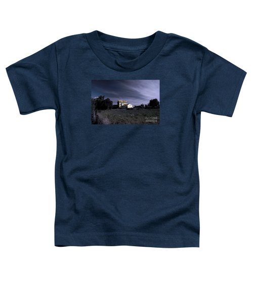 Toddler T-Shirt featuring the photograph Blue Night by Nareeta Martin