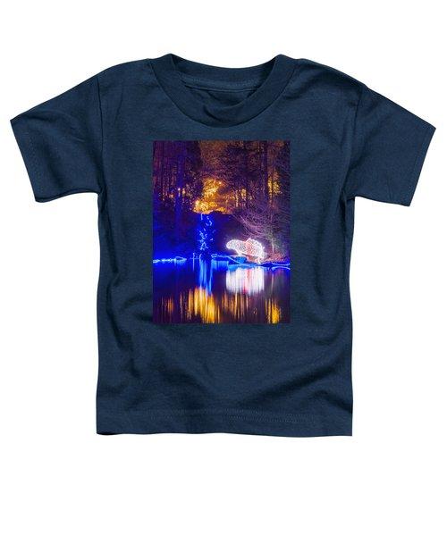 Blue River - Crop Toddler T-Shirt