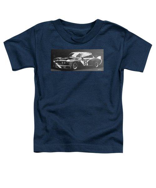 Bmw 3.0 Csl Alexander Calder Art Car Toddler T-Shirt