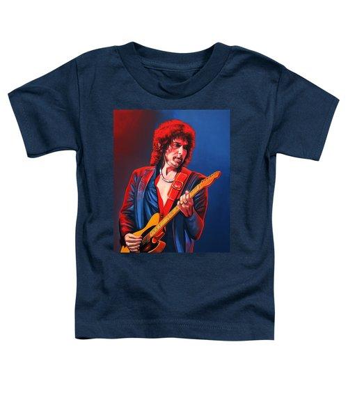 Bob Dylan Painting Toddler T-Shirt