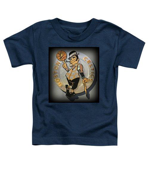 Boston Celtics Toddler T-Shirt by Stephen Stookey