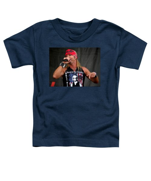 Bret Michaels In Philly Toddler T-Shirt