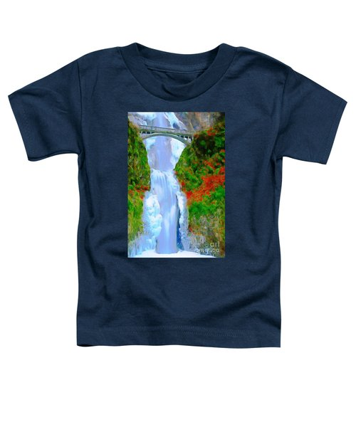 Bridge Over Beautiful Water Toddler T-Shirt