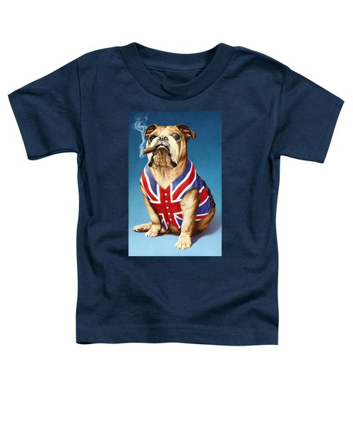 British Bulldog Toddler T-Shirt