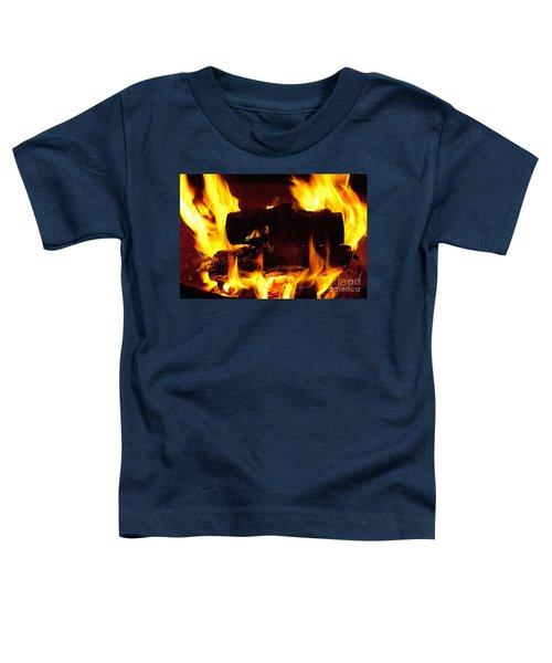 Campfire Burning Toddler T-Shirt