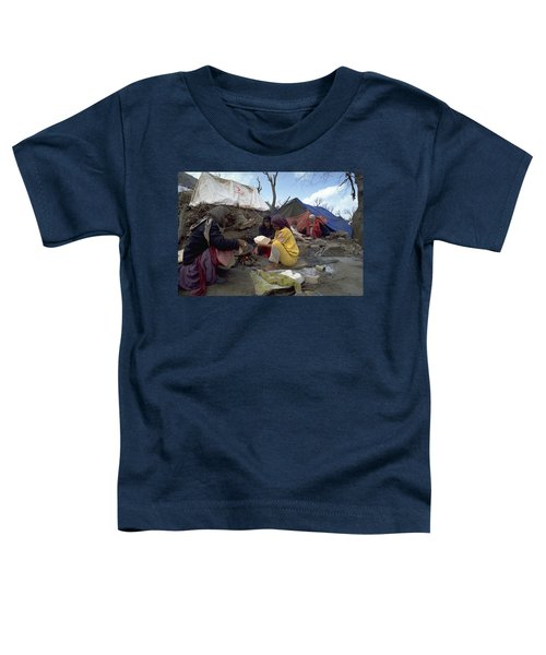 Camping In Iraq Toddler T-Shirt