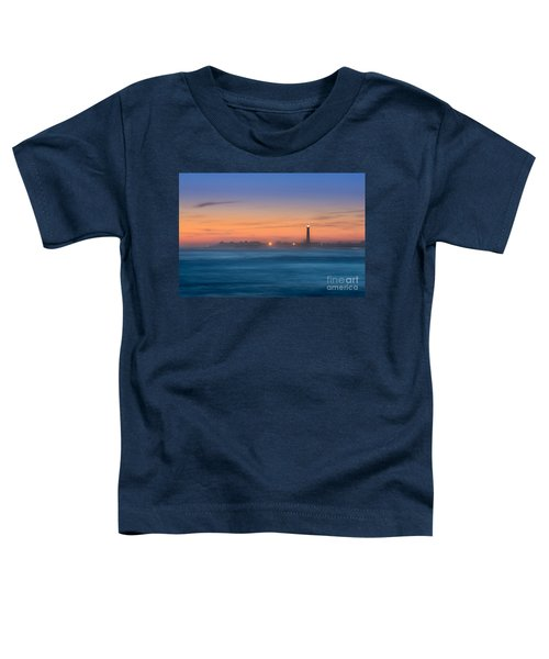 Cape May Lighthouse Sunset Toddler T-Shirt