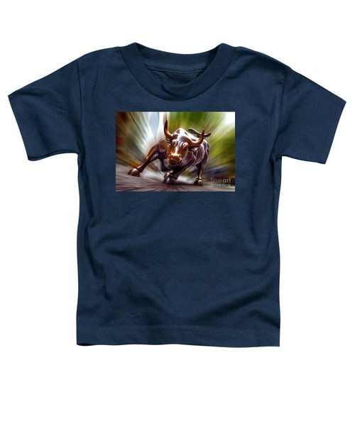 Charging Bull Toddler T-Shirt