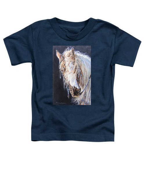 Cherokee Rose Gypsy Horse Toddler T-Shirt