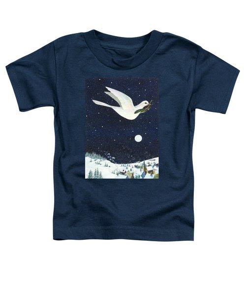 Christmas Dove Toddler T-Shirt