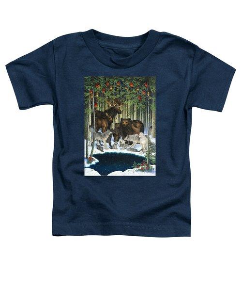 Christmas Gathering Toddler T-Shirt