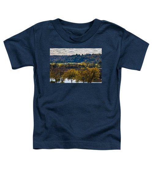 Clarksville Railroad Bridge Toddler T-Shirt