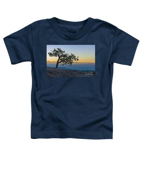 Colorado Sunset Toddler T-Shirt