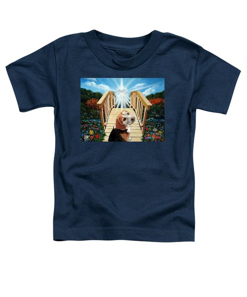 Come Walk With Me Over The Rainbow Bridge Toddler T-Shirt