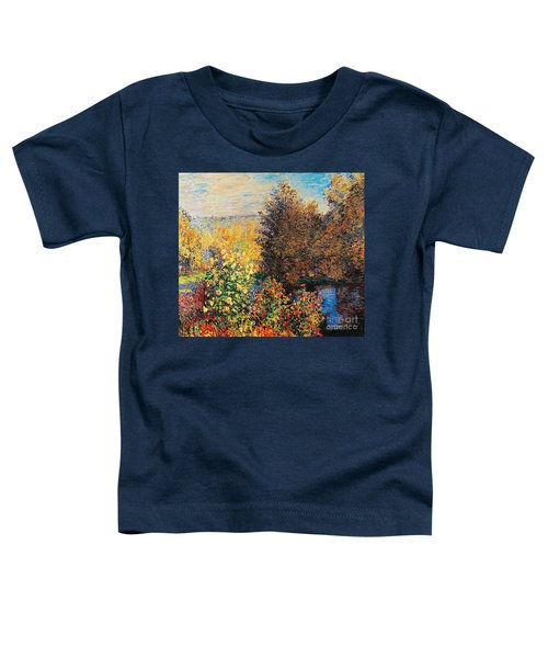 Corner Of Garden In Montgeron Toddler T-Shirt