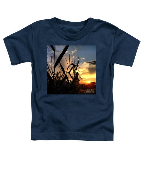 Cornfield Sundown Toddler T-Shirt