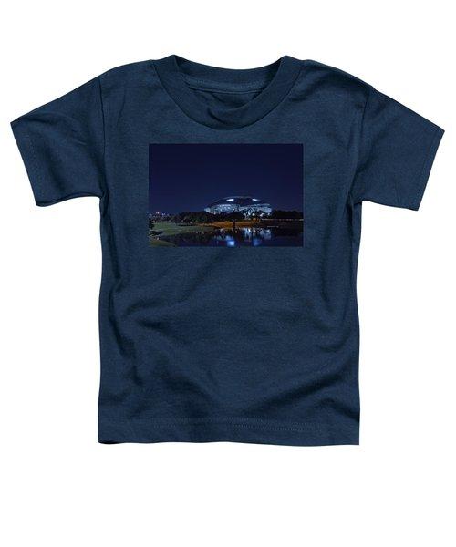 Cowboys Stadium Game Night 1 Toddler T-Shirt