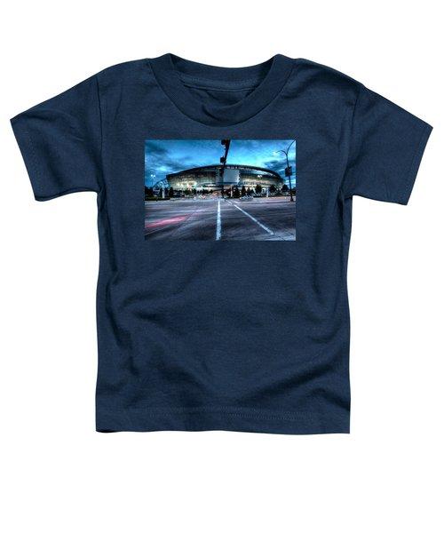 Cowboys Stadium Pregame Toddler T-Shirt