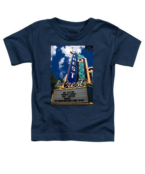 Crest Theater Toddler T-Shirt
