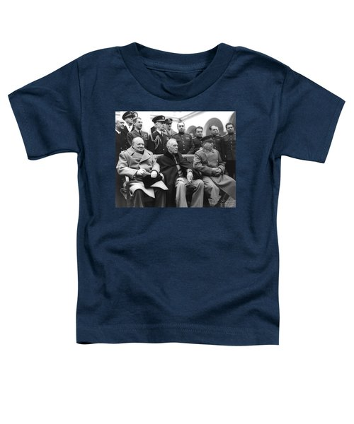Crimean Conference In Yalta Toddler T-Shirt