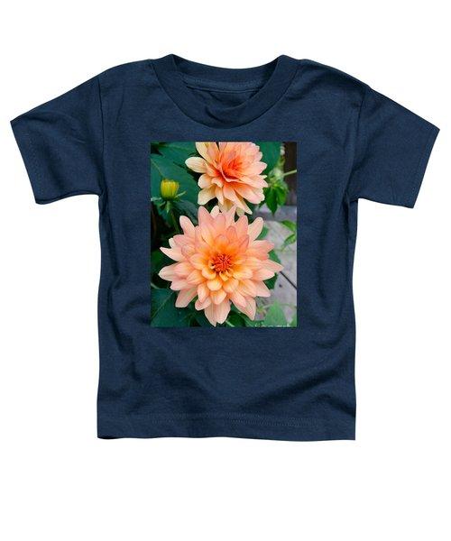 Dahlias Toddler T-Shirt