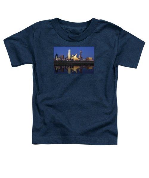 Dallas Twilight Toddler T-Shirt by Rick Berk