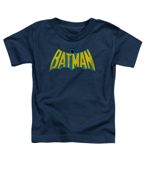 Dc - Classic Batman Logo Toddler T-Shirt