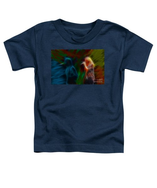 Def Leppard-adrenalize-jor-gb20--fractal Toddler T-Shirt by Gary Gingrich Galleries