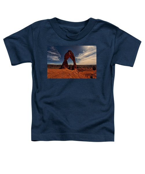 Delicate Arch Afternoon Glow Toddler T-Shirt