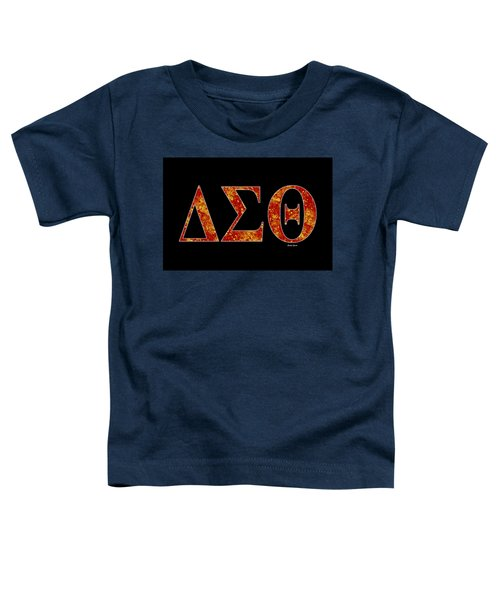 Delta Sigma Theta - Black Toddler T-Shirt