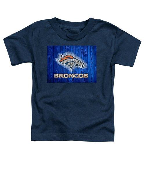 Denver Broncos Barn Door Toddler T-Shirt