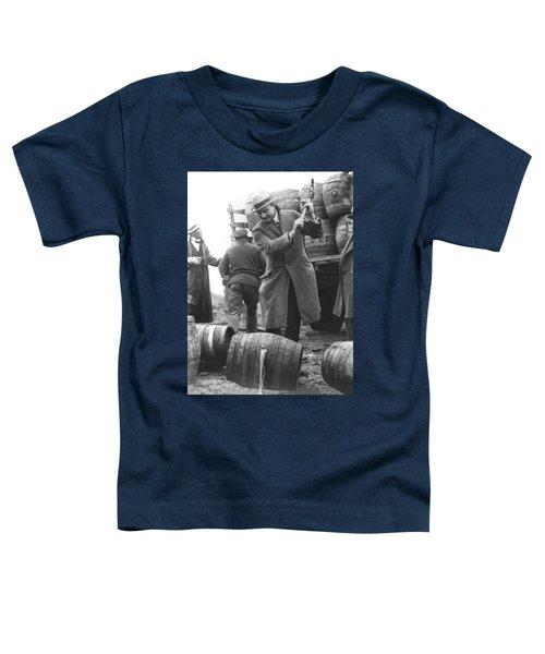 Destroying Barrels Of Beer Toddler T-Shirt