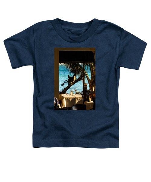 Dining For Two At Louie's Backyard Toddler T-Shirt