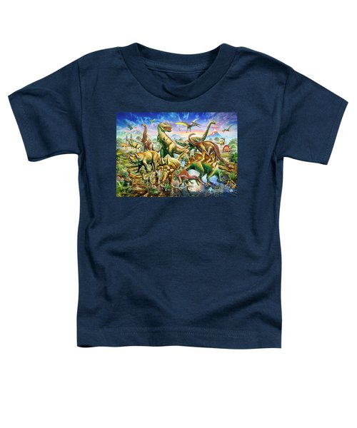 Dinoscene   Toddler T-Shirt