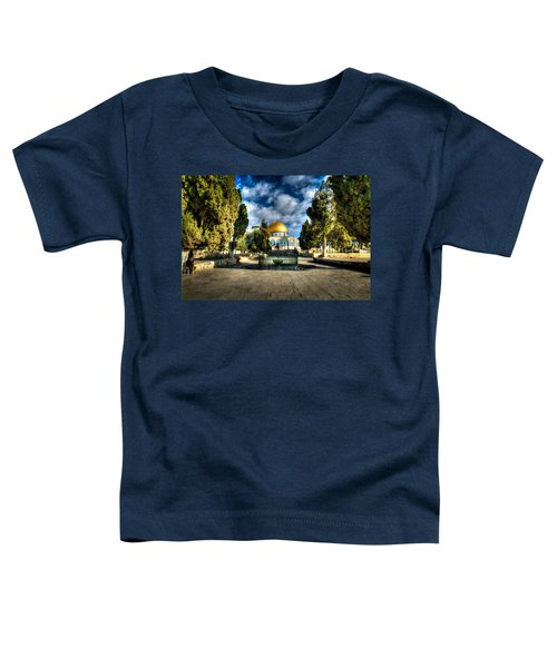 Dome Of The Rock Hdr Toddler T-Shirt