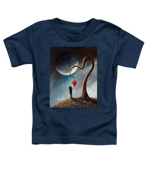 Dreamy Surreal Original Landscape Painting  Toddler T-Shirt