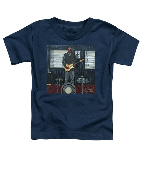 Drums And Wires Toddler T-Shirt by Sandra Marie Adams