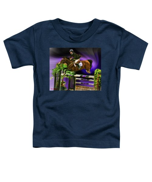 Duncan Mcfarlane On Horse Mr Whoopy Toddler T-Shirt