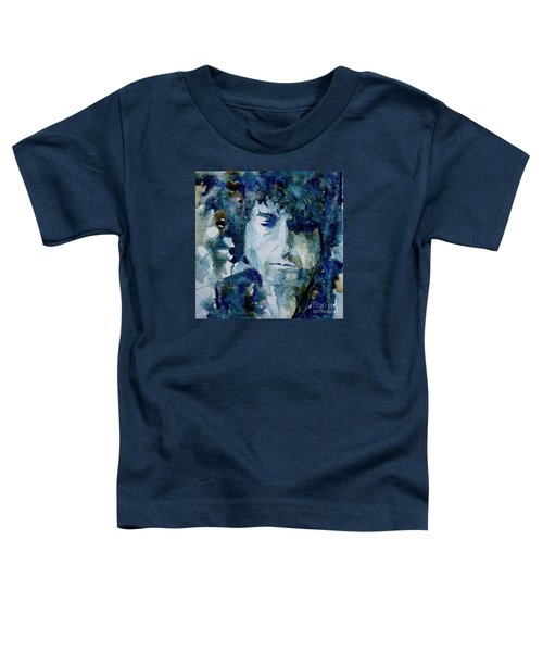 Dylan Toddler T-Shirt by Paul Lovering