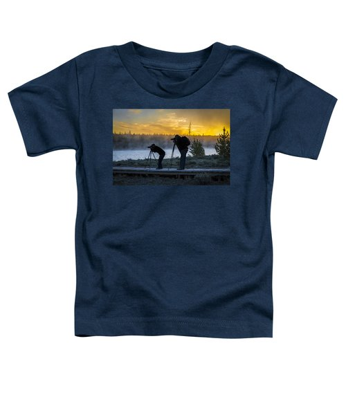 Early Birds Yellowstone National Park Toddler T-Shirt