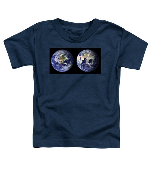 East And West Toddler T-Shirt