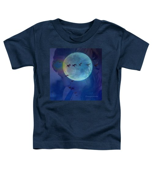 Edit To The Poem Oh Moon Toddler T-Shirt