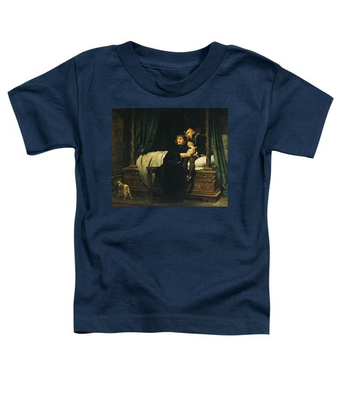 Edward V 1470-83 And Richard, Duke Of York In The Tower Les Enfants Dedouard 1830 Oil On Canvas See Toddler T-Shirt by Hippolyte Delaroche