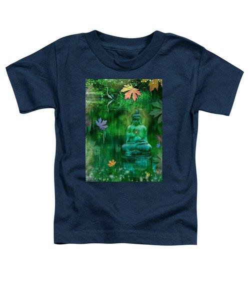 Emerald Crane Toddler T-Shirt